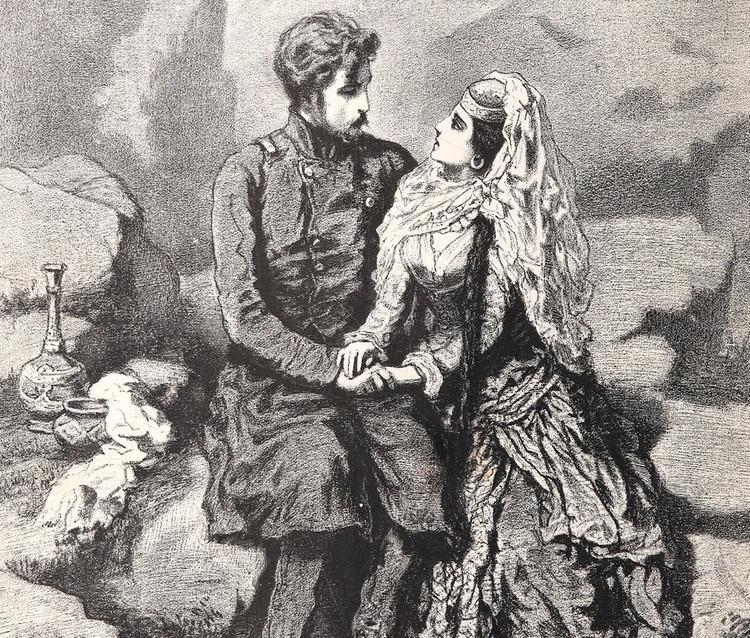 Иллюстрации к произведению кавказский пленник пушкин
