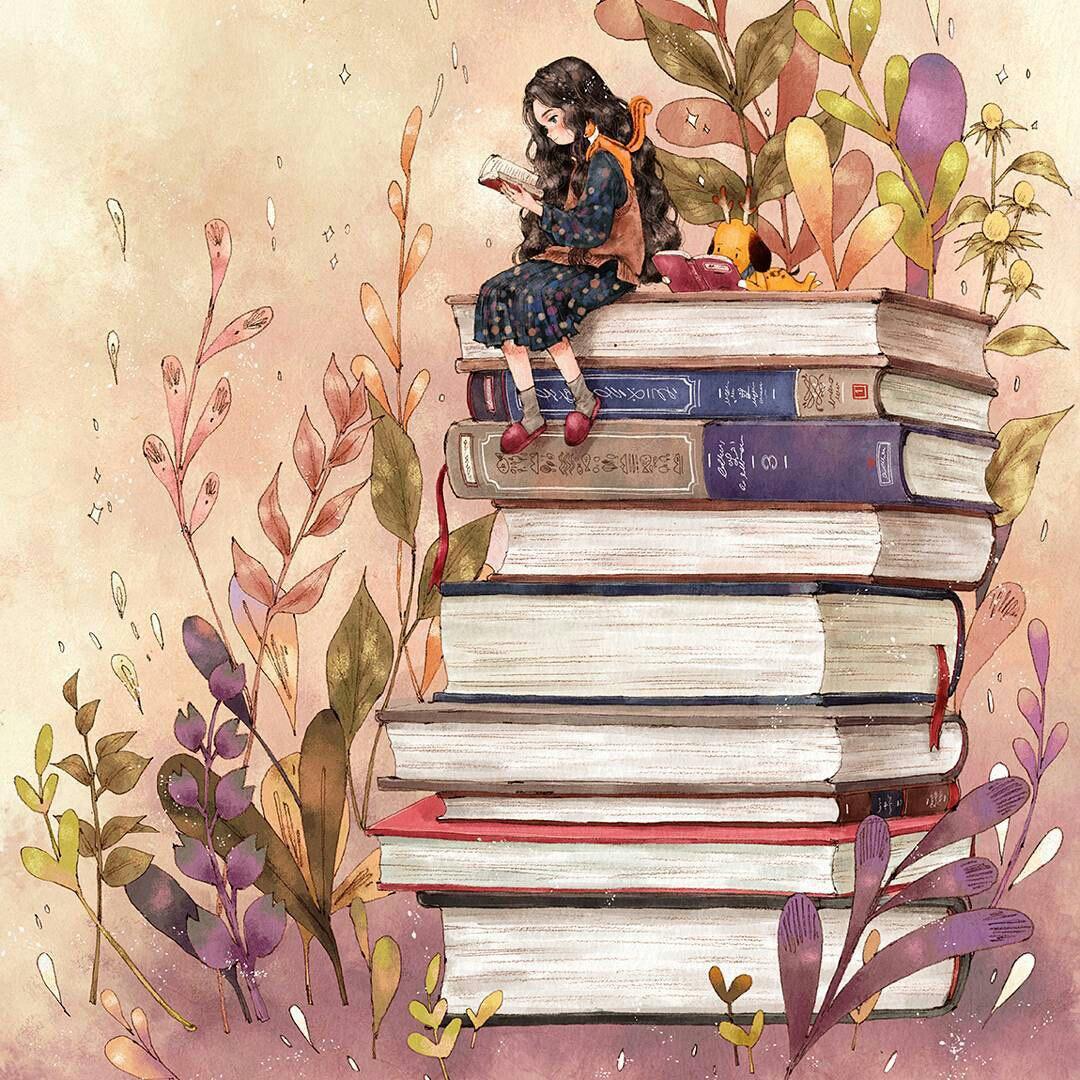 Картинки про книги и любовь