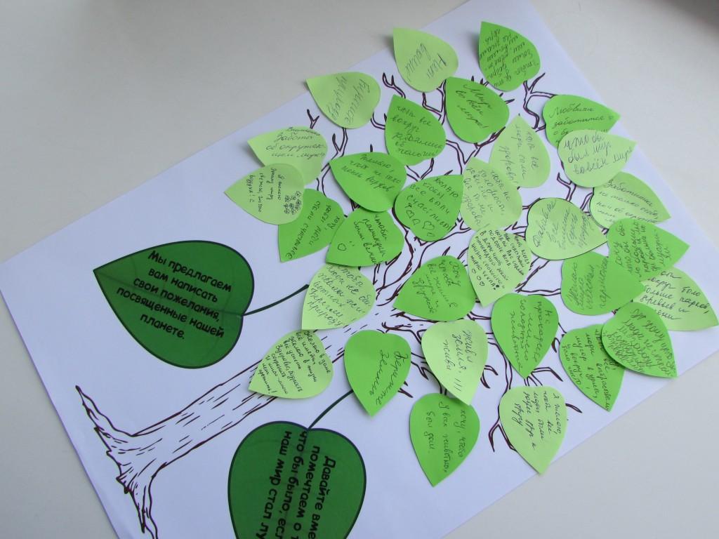 Дерево пожеланий на день рождения своими руками 648