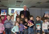 Ю. Баранов и воспитанники д/с 167