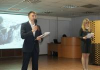 Ведущие Алексей Пастух и Екатерина Сазонова