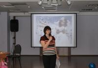 Ведущая Марина Зайцева
