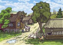 деревенька моя